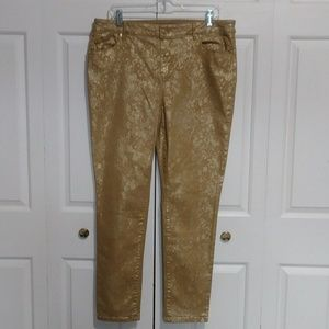the Platinum Jegging by Chicos - Size 2 (12)